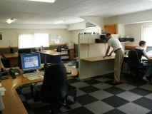 Werkplaats en kantoor